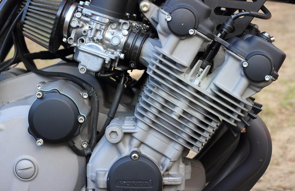 Vintage Honda Motorcycle Engine