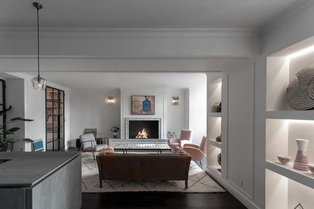 1-Kensington flat refubishment bespoke j