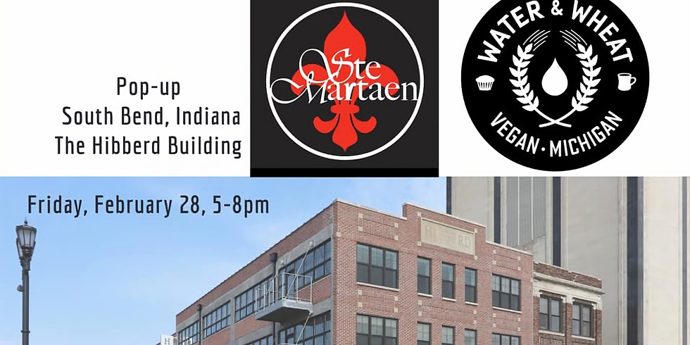 SteMartaen and Water & Wheat pop-up in South bend