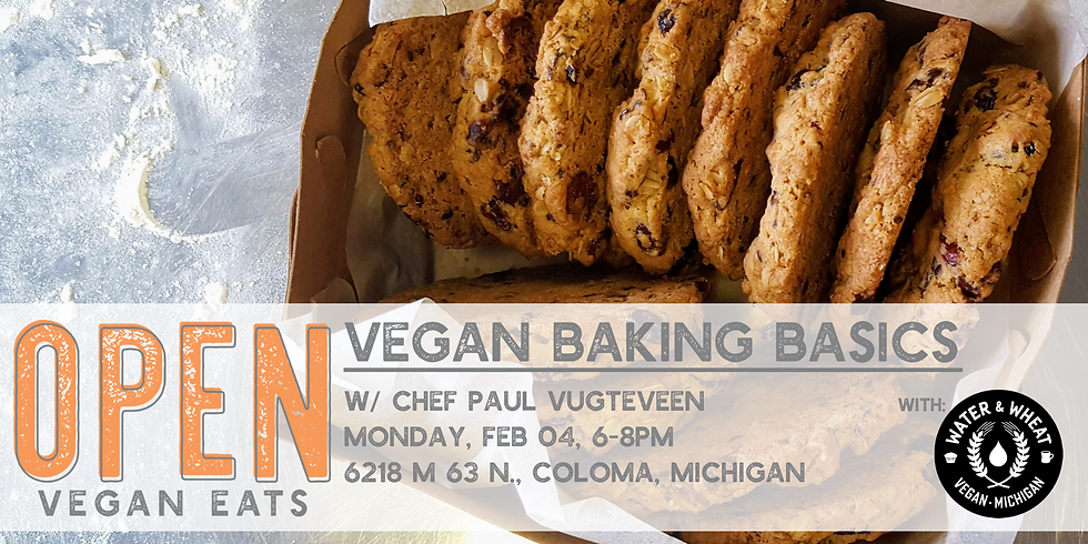 Vegan Baking Basics