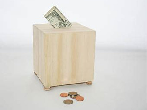 Woodworking Kit - Coin Bank