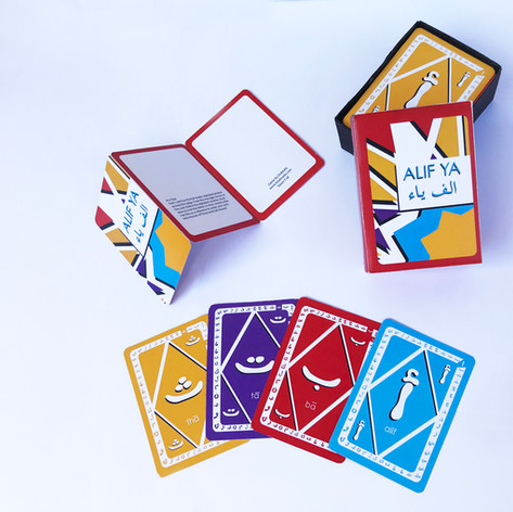 Cards with box and the rules insert