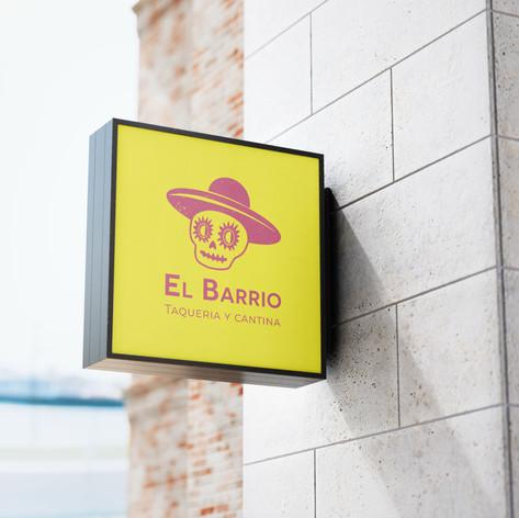 El Barrio - Signage