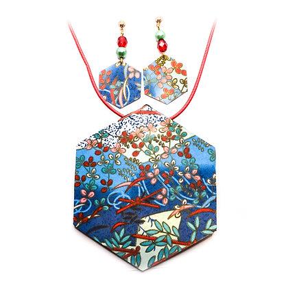 Conjunt Anzu- Blau, verd, vermell