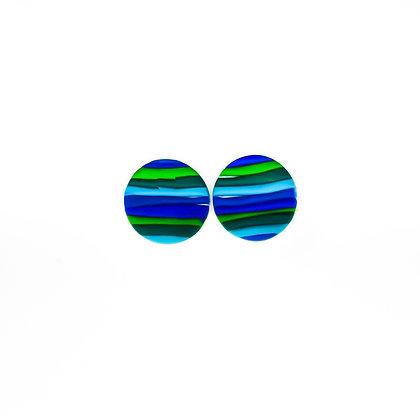 Verona- Ratlles verd i blau
