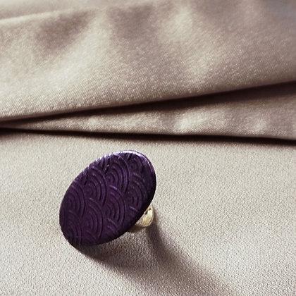 Anell oval- Danubi lila