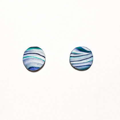Verona mini- Blau, blanc, verd