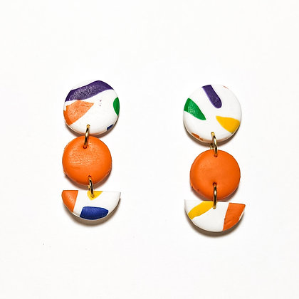 Modena- Taronja, blanc, groc, lila, verd