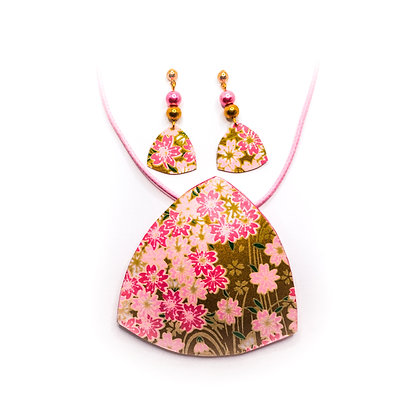 Conjunt MIRAI- Rosa i daurat