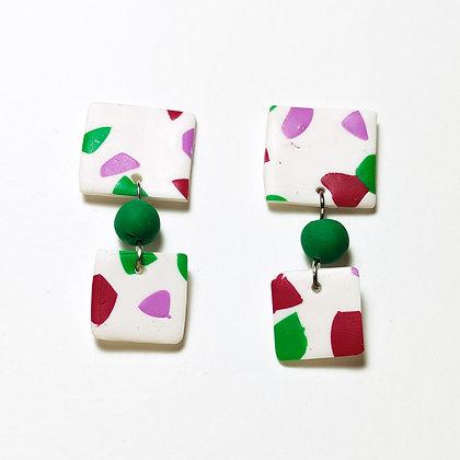 Cremona- Blanc, verd, lila, magenta