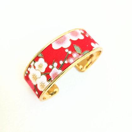 Braçalet- Sakura vermell