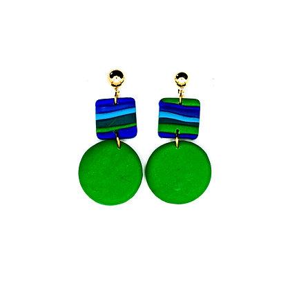 Roma- Verd, blau