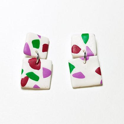 Trento- Blanc, verd, lila, magenta