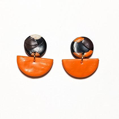 Bari- Taronja, negre, marró