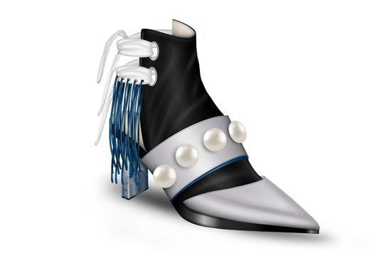 Ageless_AMAS_scarpa con tacco intercambi