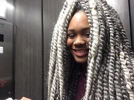 capelli, cappelli e accessori trendy delle ragazze newyorkesi