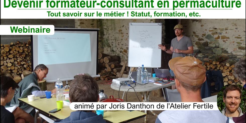 Webinaire Devenir formateur-consultant en permaculture