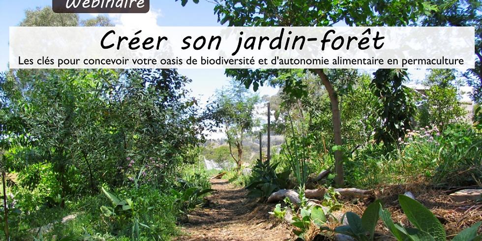 Webinaire Créer son jardin-forêt