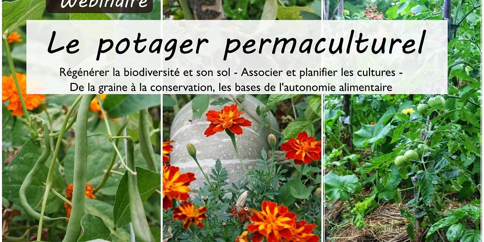 Webinaire Le potager permaculturel