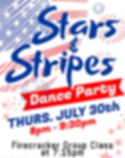 DV - July 2020 Party Flyer - Made with P