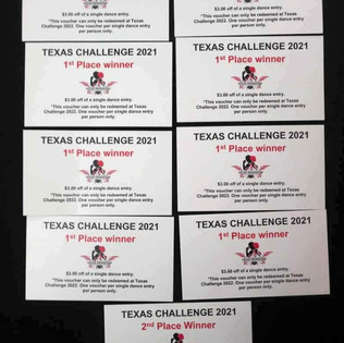 Top scores in the TX Challenge!