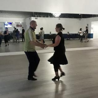Jayce & Kristi dance Hustle