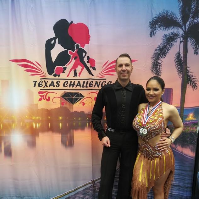 Priscilla & Andy at Texas Challenge 2021