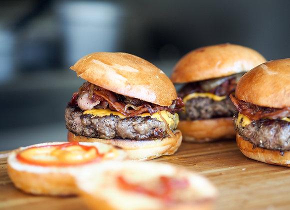 Mezcla Burger 20% grasa. Precio x 2 kg.