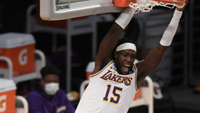 Lakers Anthony Davis out and Montrezl Harrell isn't taking advantage of the moment