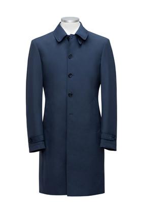 Navy Blue Raincoat