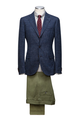 Cotton and Linen Jacket