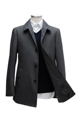 Short grey Raincoat