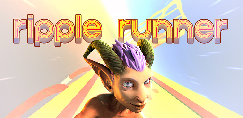 Ripple Runner, Infinite runner video game mobile