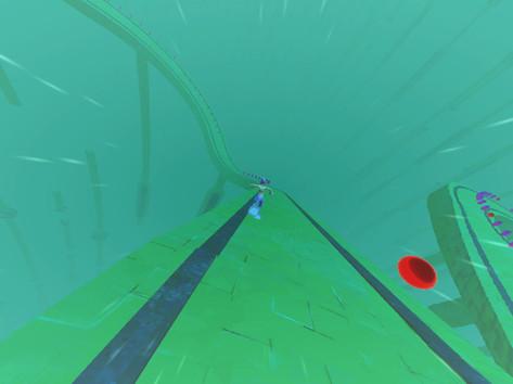 Ripple Runner video game for mobile