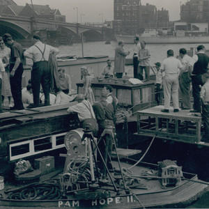 Part of the film 'The Naked Truth' was captured at Chelsea Yacht & Boat Company in the 1950's