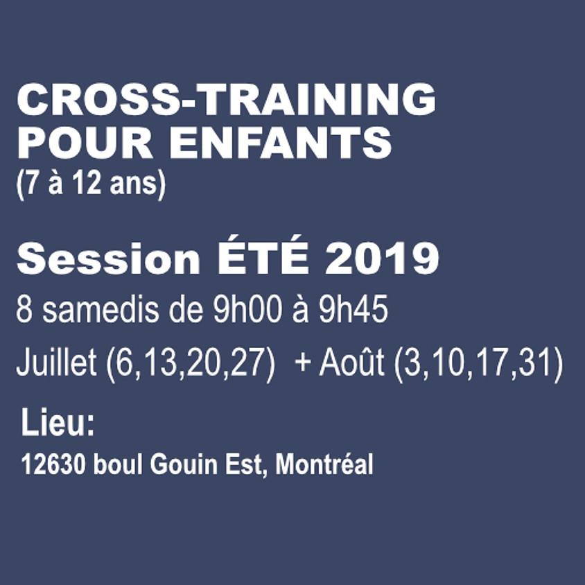 Cross-Training pour enfants - Session été 2019