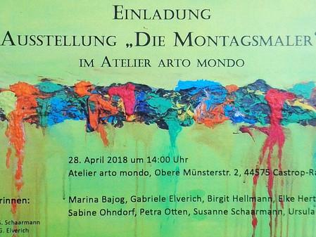 Einladung zur Ausstellung im arto mondo