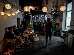 Nacht Bücher Trödelmarkt