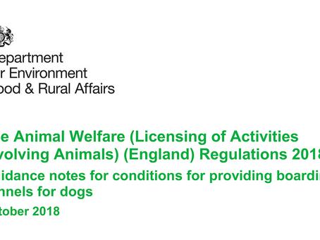 The New Animal Welfare Regulations