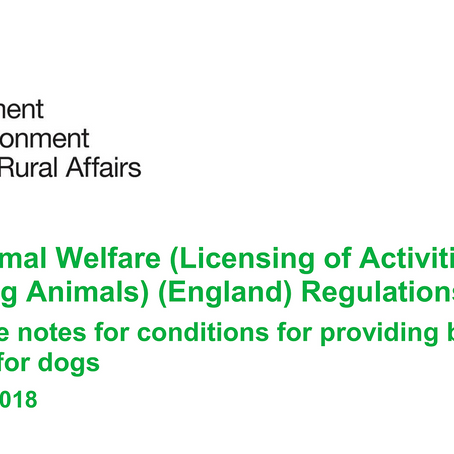 The New Animal Welfare Regulations