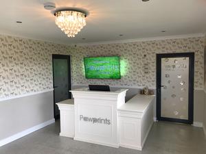 Pawprints Kennels - Reception Area