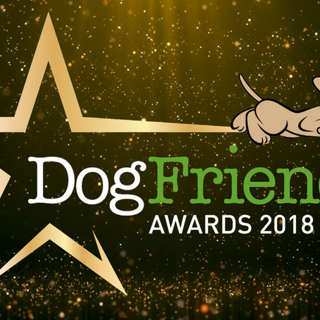We're in the Top 3 Kennels in the UK!