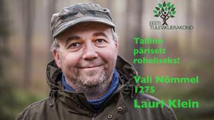 Lauri Klein, nr 1275 Nõmmel: 10 lihtsat soovi Tallinnas (ja kogu Eestis)