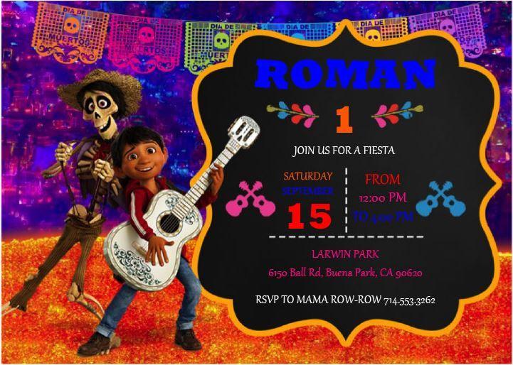Roman Fiesta Invite
