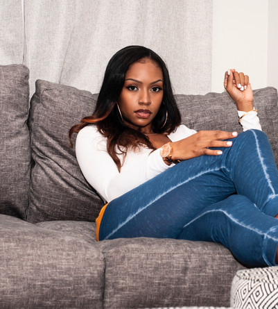 Shantel Giselle Gray Couch