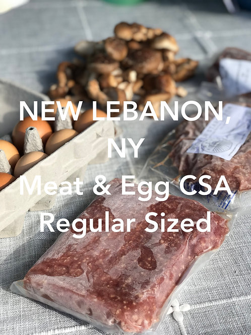 EARLY SIGN UP Regular Summer CSA - NEW LEBANON PICKUP