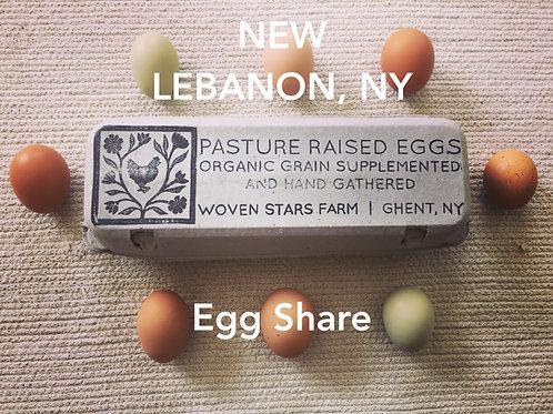 Egg CSA - NEW LEBANON PICKUP