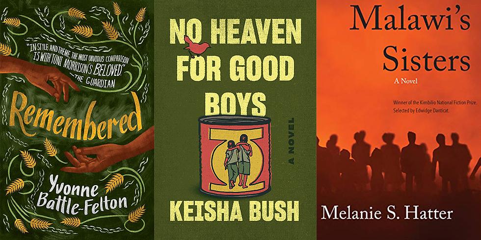 VA Book Shelf live with Keisha Bush, Melanie S. Hatter, and Yvonne Battle-Felton