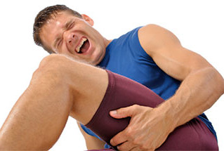 Managing a strained muscle