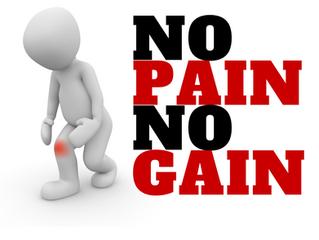 No Pain, No Gain? A Myth Bust Monday